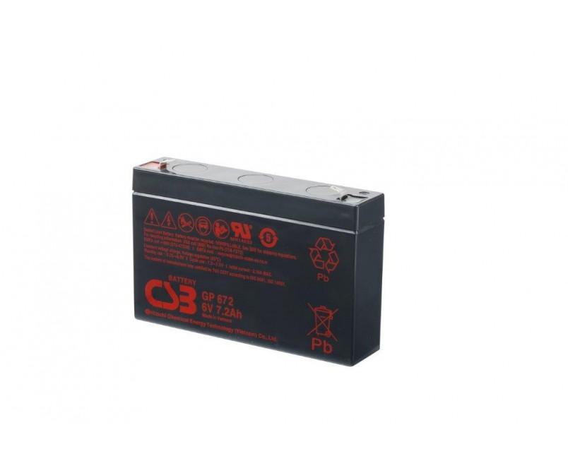 GP672 (6 V 8.4Ah)