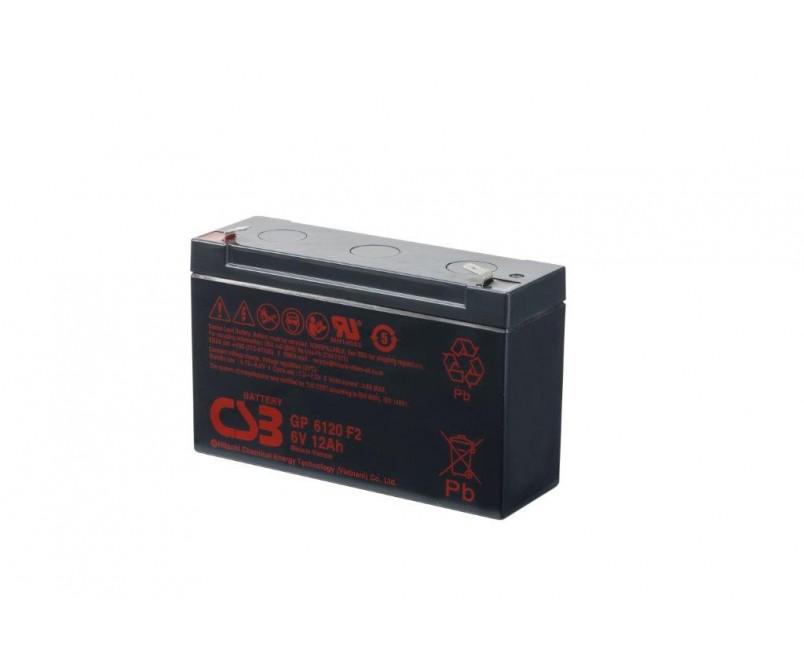 GP6120 (6 V 12Ah)