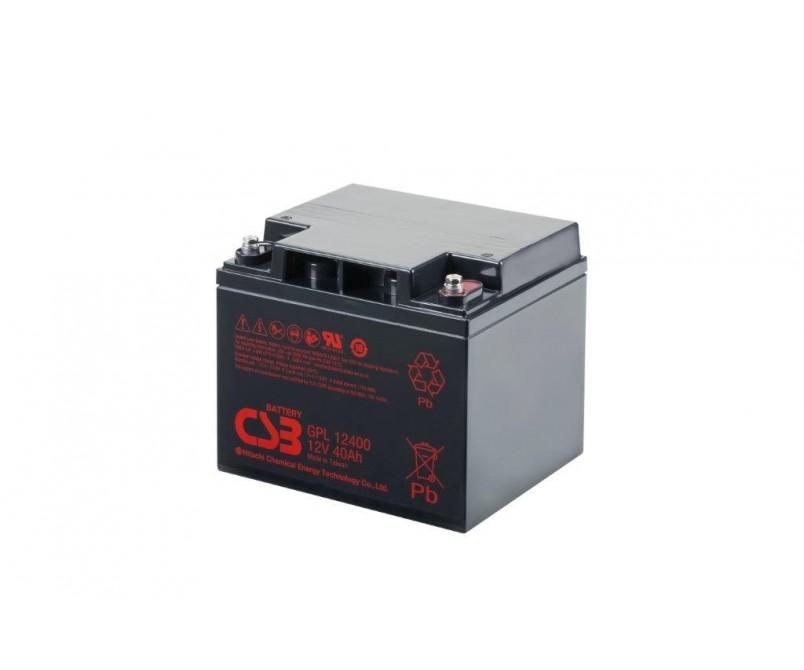 GPL12400 (12V 40Ah)