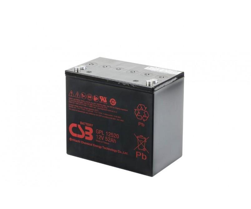 GPL12520 (12V 52Ah)