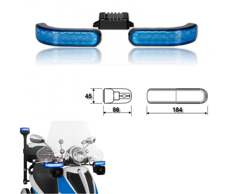 Kit de focos direccionales DL8 para motocicleta
