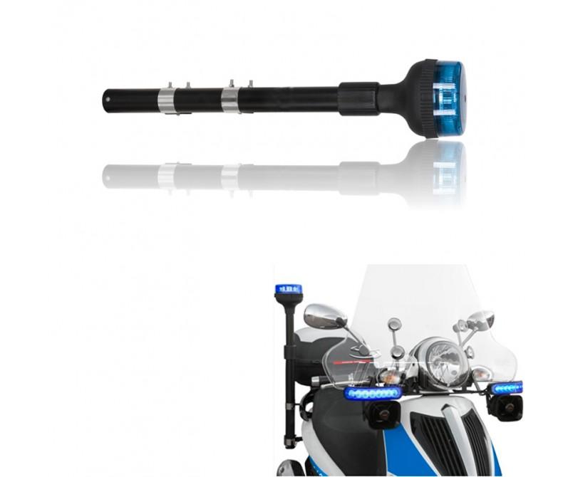Mástil teléscopico de leds FLEXIPOLE para motocicletas